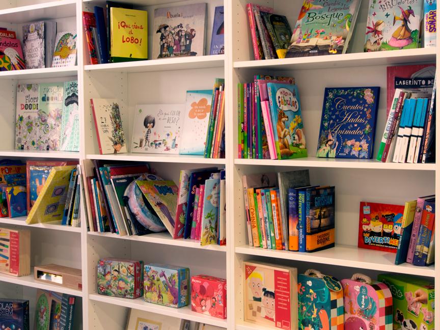 Librería infantil y juvenil en Ponferrada